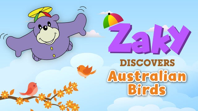Zaky Discovers Australian Birds