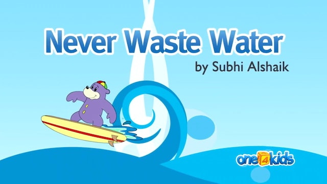 Never Waste Water with Zaky