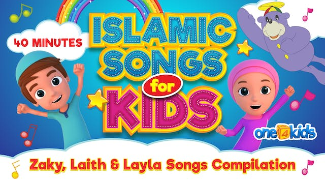 Islamic Songs For Kids | 40 MINUTES |...