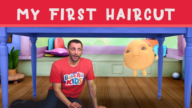 My First Haircut  |  Baba Ali Kids