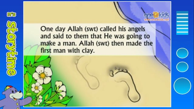 The Story of Prophet Adam (as)