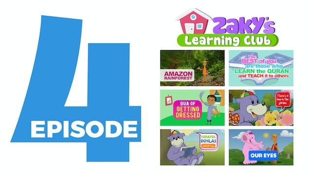 Zaky's Learning Club - One4kids tv