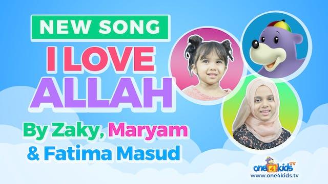 Zaky, Maryam & Fatima Masud Sing 'I L...