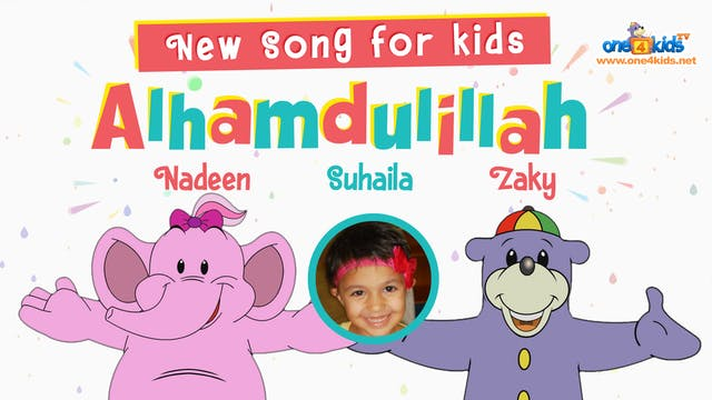Alhumdulillah Song by Zaky, Nadeen & ...