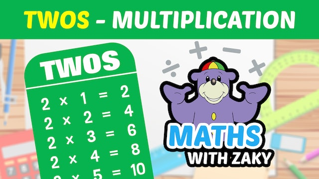📕 Learn Maths with Zaky - Multiplication (Number 2)