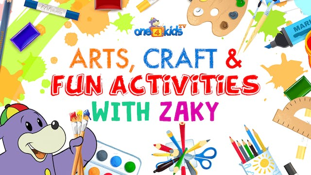 Arts, Craft & Fun Activities with Zaky