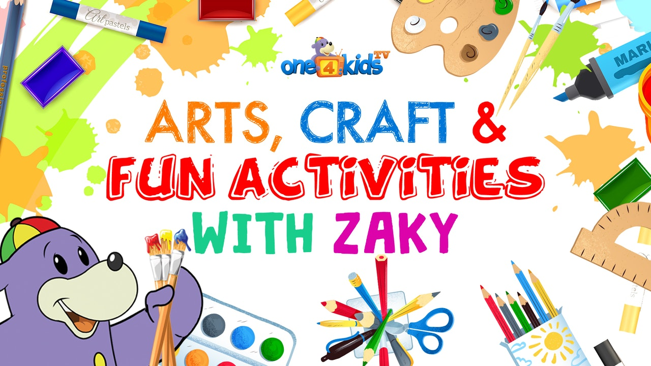 Arts, Craft & Fun Activities with Zaky