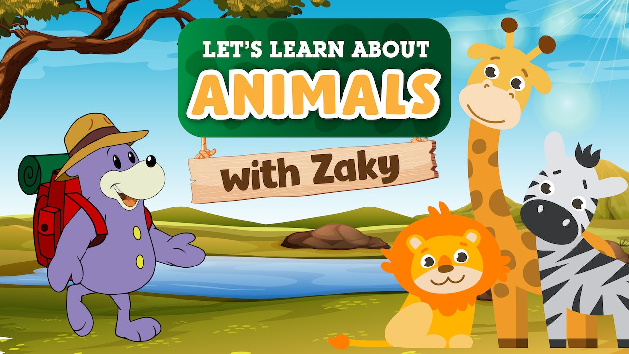Let's Learn About Animals With Zaky!