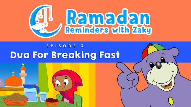 Dua For Breaking Fast (ep3)