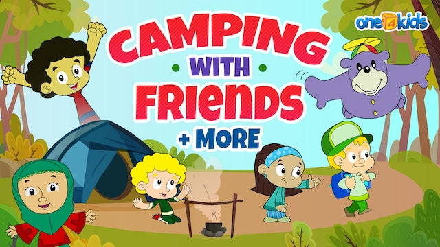 Camping with Friends + more | Zaky & Friends