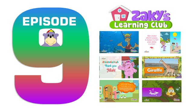 EPISODE 9 - Zaky's Learning Club