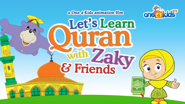 Let's Learn Quran with Zaky & Friends