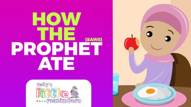 How The Prophet Ate