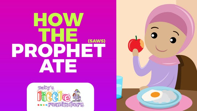 How The Prophet Ate