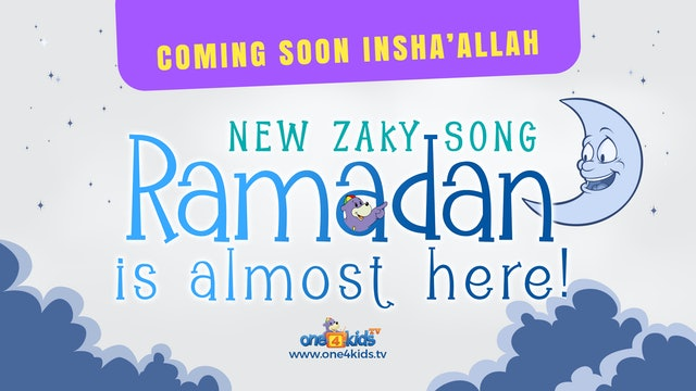 Zaky Song Preview - Ramadan Is Almost Here!