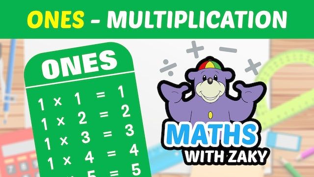 📕 Learn Maths with Zaky - Multiplication (Number 1)