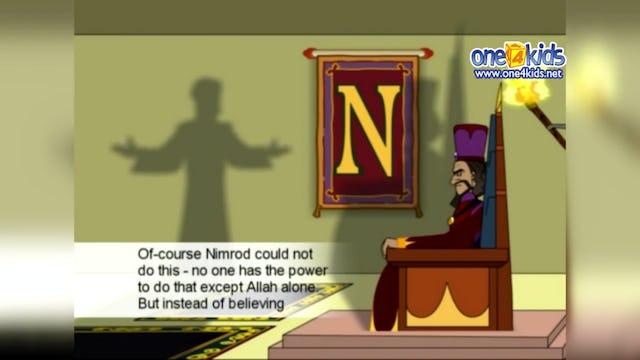 Ibrahim (as) is taken to King Nimrod