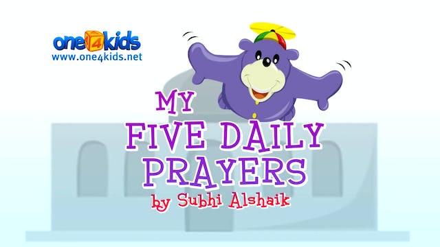 My Five Daily Prayers with Zaky
