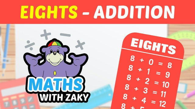 📕 Learn Maths with Zaky - Additions (Number 8)