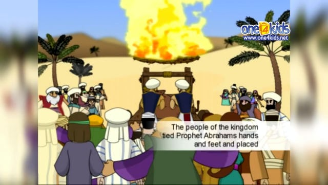 Ibrahim (as) was thrown into the Fire