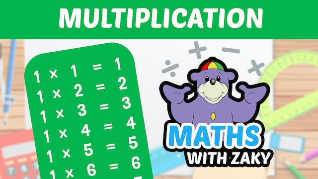 📕 Learn Maths with Zaky - Multiplication