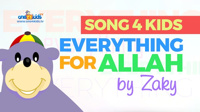 Everything For ALLAH SONG by Zaky