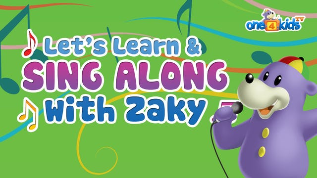 Let's Learn & Sing Along with Zaky
