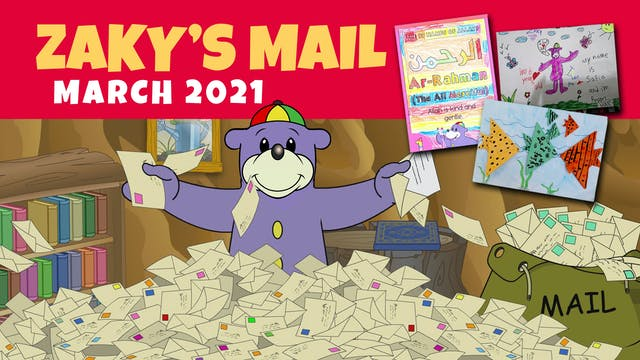 Zaky Opens Mail - March 2021