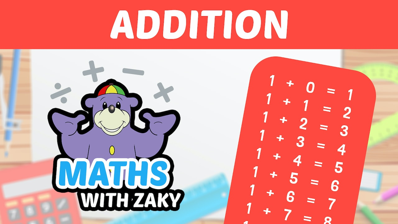 📕 Learn Maths with Zaky - Addition