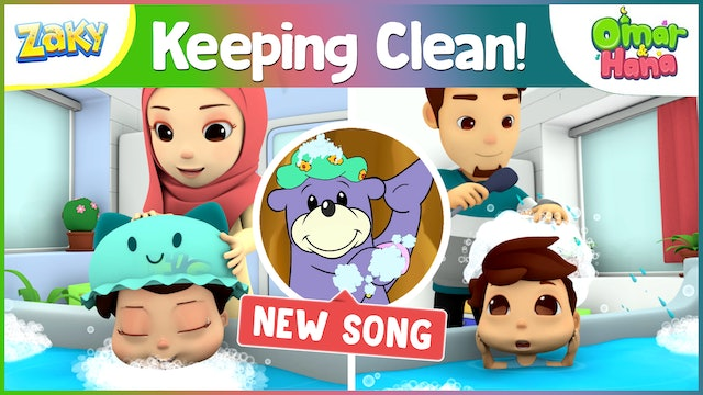 Keeping Clean by Omar & Hana featuring Zaky