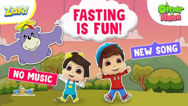 Fasting is FUN! Song by Omar, Hana & Zaky
