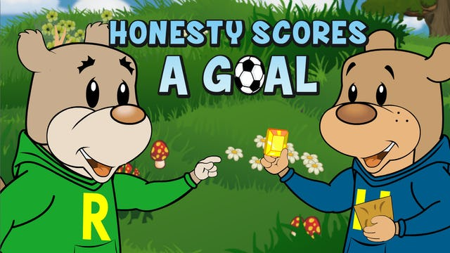 Honesty scores a goal