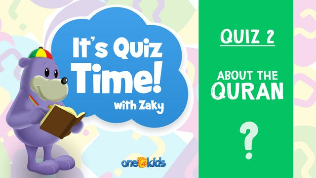 It's Quiz Time With Zaky - 2 - About ...