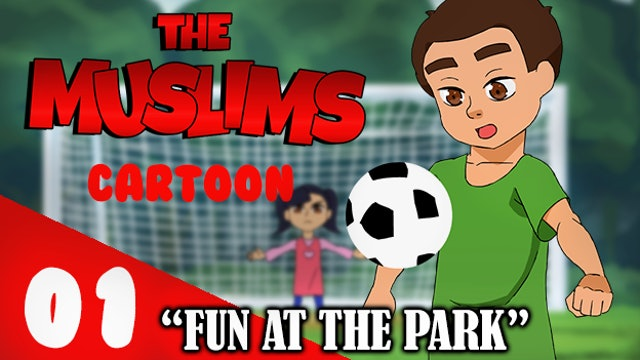 The Muslims Cartoon: Fun at the Park