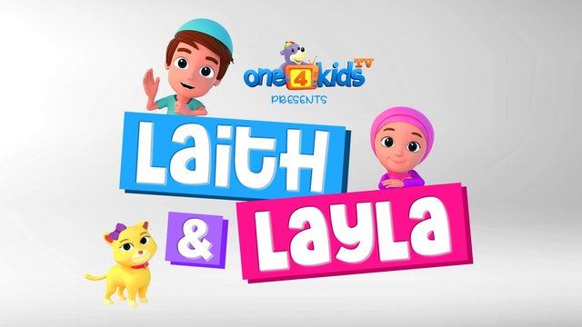 LAITH & LAYLA - NEW CARTOON SERIES!