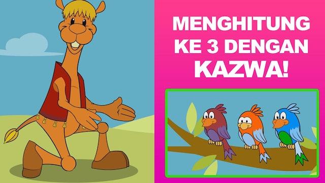 Belajar Angka 3 bersama Kazwa!