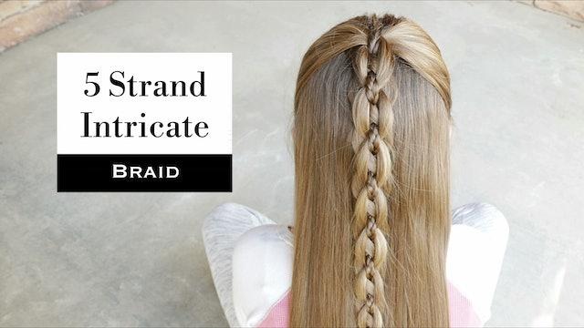 5 Strand Braids On Hair With Erin