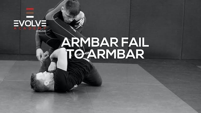 Armbar Fail to Armbar