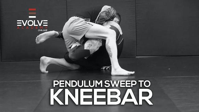 Pendulum Sweep to Kneebar