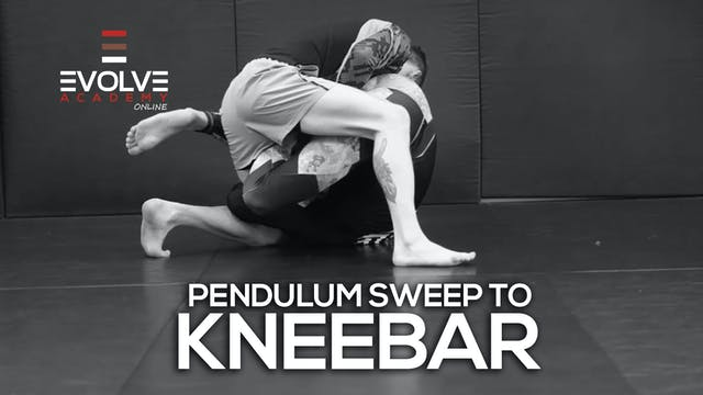 Pendulum Sweep to Kneebar