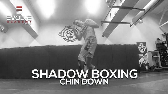 Shadow Boxing - Chin Down