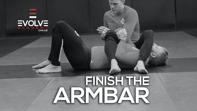 Finish Armbar