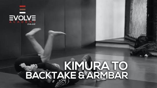 Kimura to Backtake or Armbar