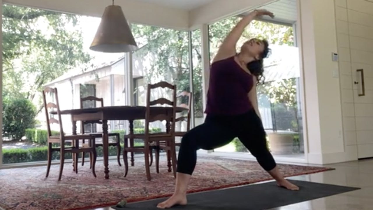 Root Chakra Flow with Lizzy Allen_60 Mins