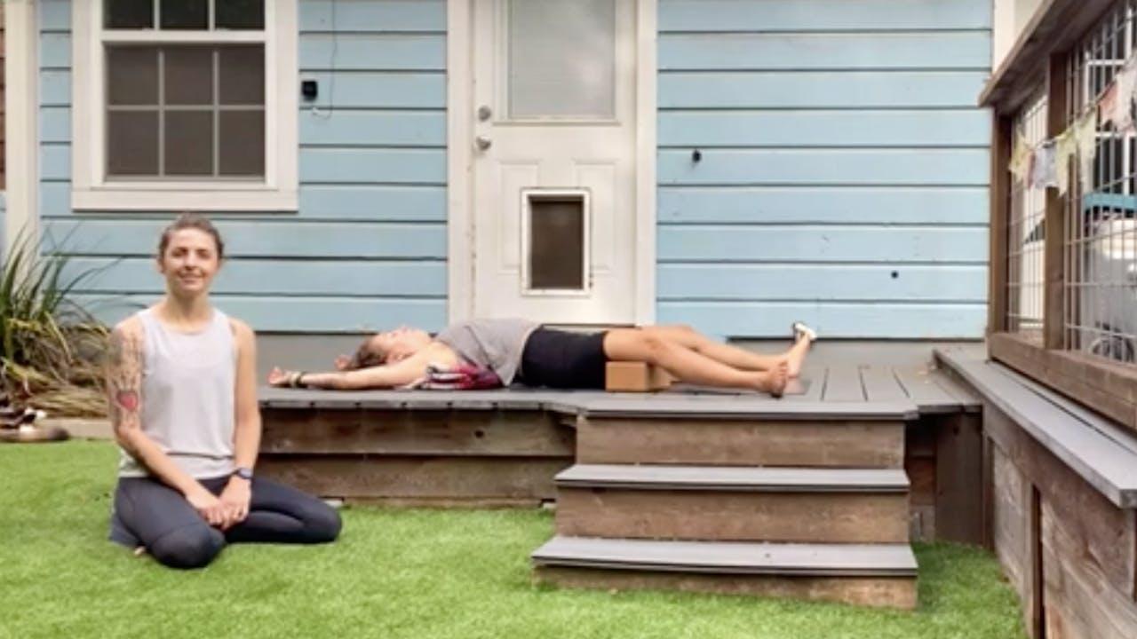 Restorative Yoga with Digital Decompress_30 Mins