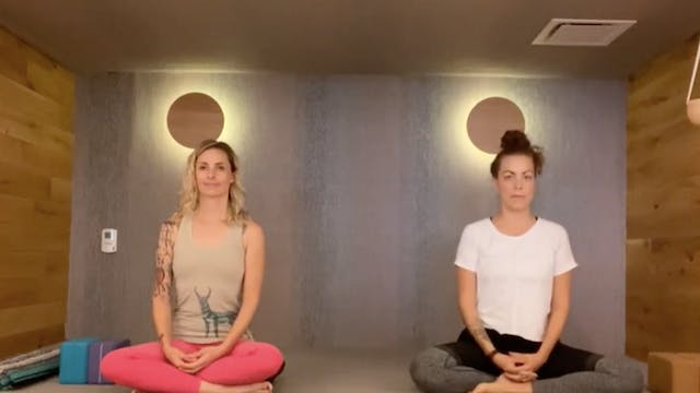 Seated Stretch and Meditation with Di...