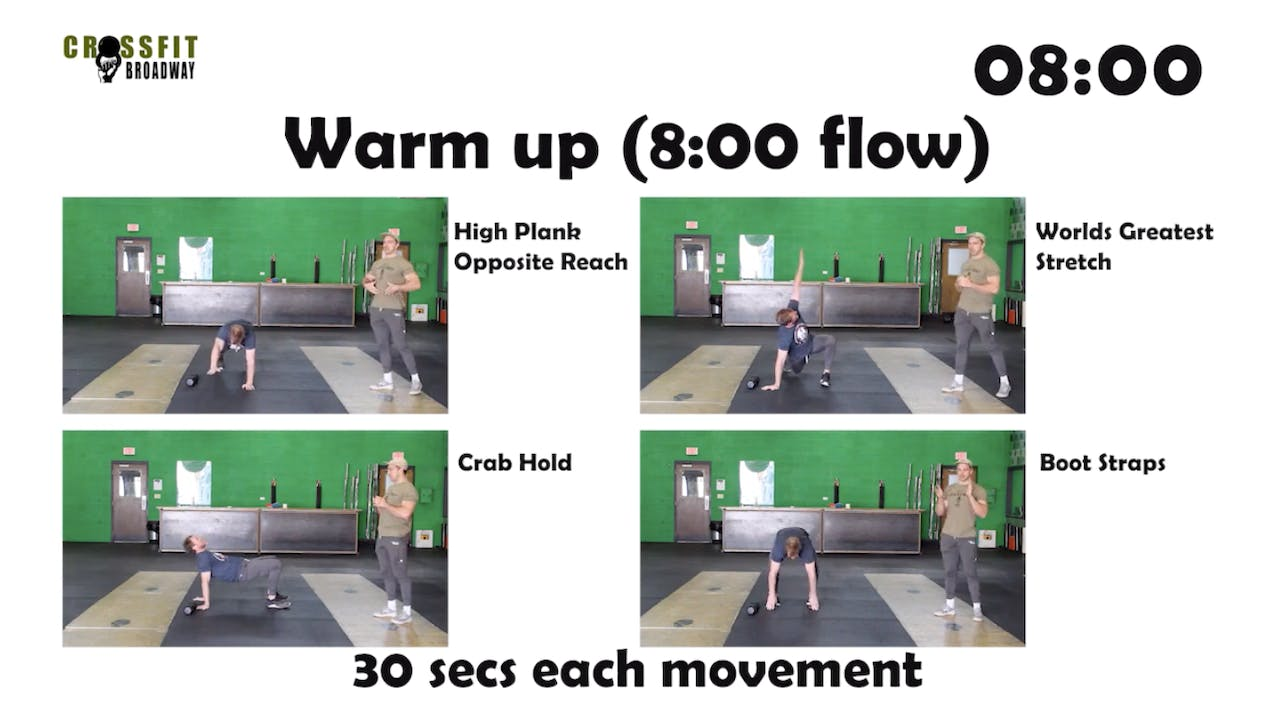 Full Body 2 with CrossFit Broadway_35 Mins