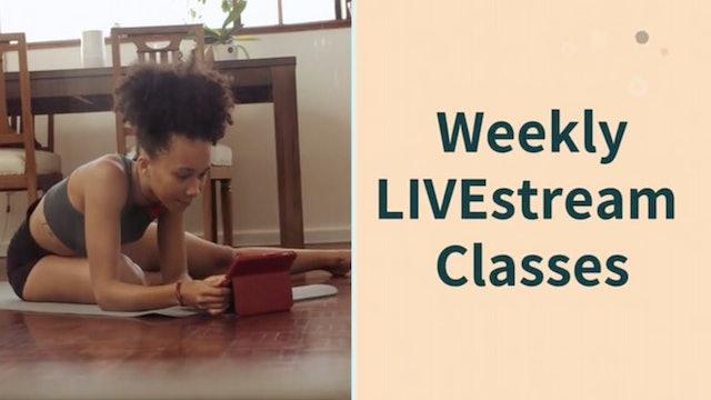 LIVEstream Classes