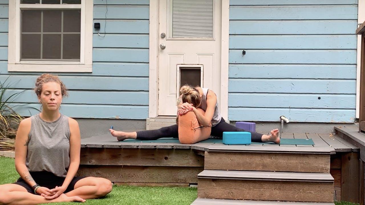 Digital Decompress - Yin Yoga (Spleen+Stomach)