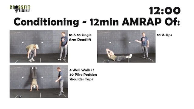CrossFit Broadway - Full Body 4